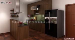 Tủ bếp đẹp cho nhà chật