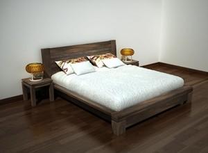 Giường ngủ gỗ óc chó X616