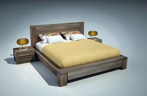 Giường ngủ gỗ óc chó X617