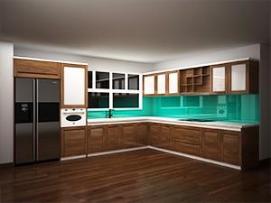 Tủ bếp gỗ óc chó X807