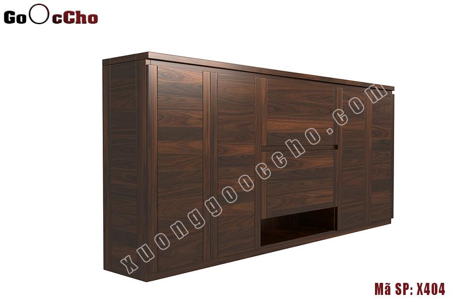 Tủ giày gỗ óc chó X404