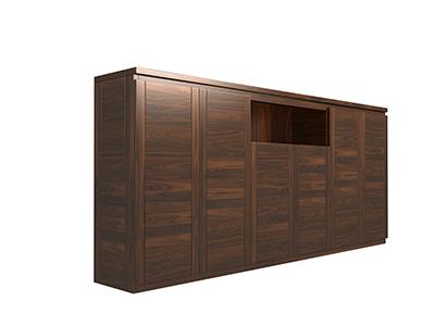 Tủ giày gỗ óc chó X402