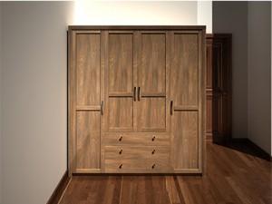 Tủ quần áo gỗ óc chó X507