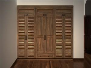 Tủ quần áo gỗ óc chó X509