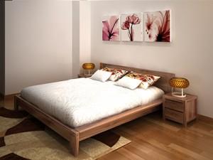 Giường ngủ gỗ óc chó X624