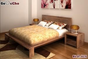 Giường ngủ gỗ óc chó X626
