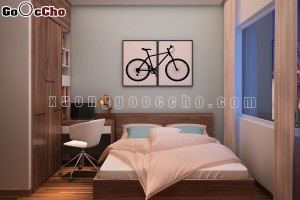 Thiết kế phòng ngủ con trai