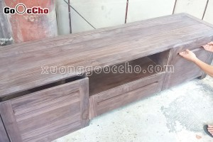 Kệ tivi gỗ mộc