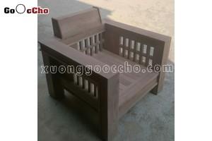 Ghế gỗ óc chó mộc