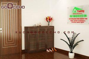 Tủ giầy gỗ óc chó XTG008a