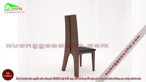 Ghế ăn gỗ óc chó CT861A6