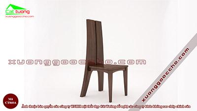 Ghế ăn gỗ óc chó CT860A