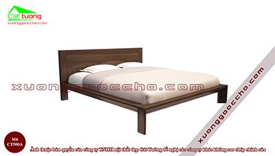 Giường ngủ gỗ óc chó CT500A