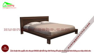 Giường ngủ gỗ óc chó CT502A