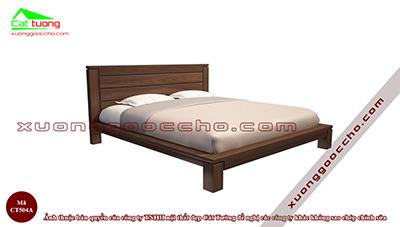 Giường ngủ gỗ óc chó CT504A