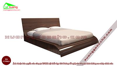 Giường ngủ gỗ óc chó CT506A