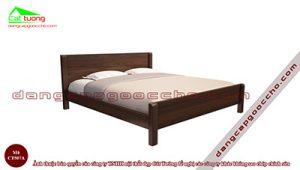 Giường ngủ gỗ óc chó CT507A