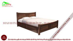 Giường ngủ gỗ óc chó CT508A