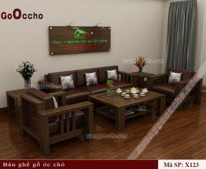 Mẫu bàn ghế phòng khách hiện đại
