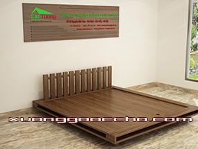 Giường ngủ gỗ Óc Chó CT601dd