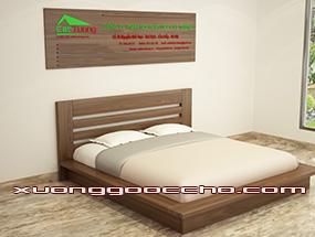 Giường ngủ gỗ Óc Chps CT607 dd
