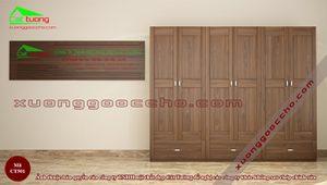 Tủ quần áo gỗ óc chó CT501