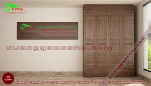 Tủ quần áo gỗ Óc Chso CT504 dd