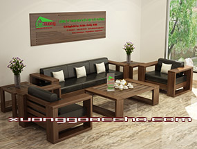 bàn ghế gỗ óc Chó CT113 d