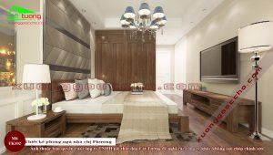 Phòng ngủ gỗ óc chó TK102 B2