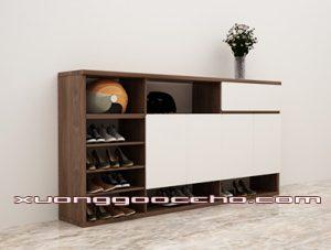 Tủ giày gỗ óc chó CT415 B