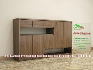 Tủ giày gỗ óc chó CT413 B