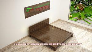 Giường ngủ gỗ óc chó CT614